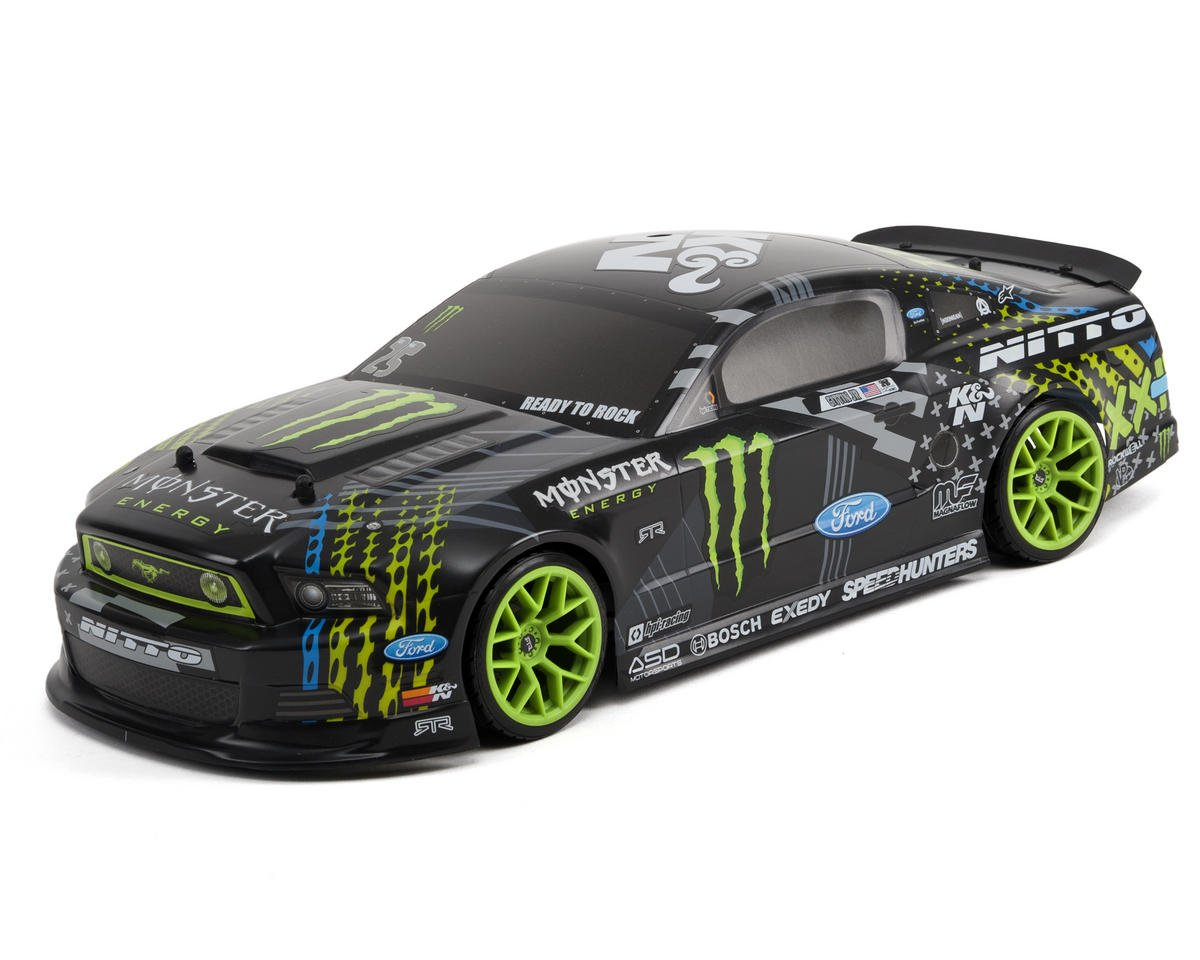 E10 Drift Gittin Jr '13 Monster Energy Mustang Body by HPI Racing