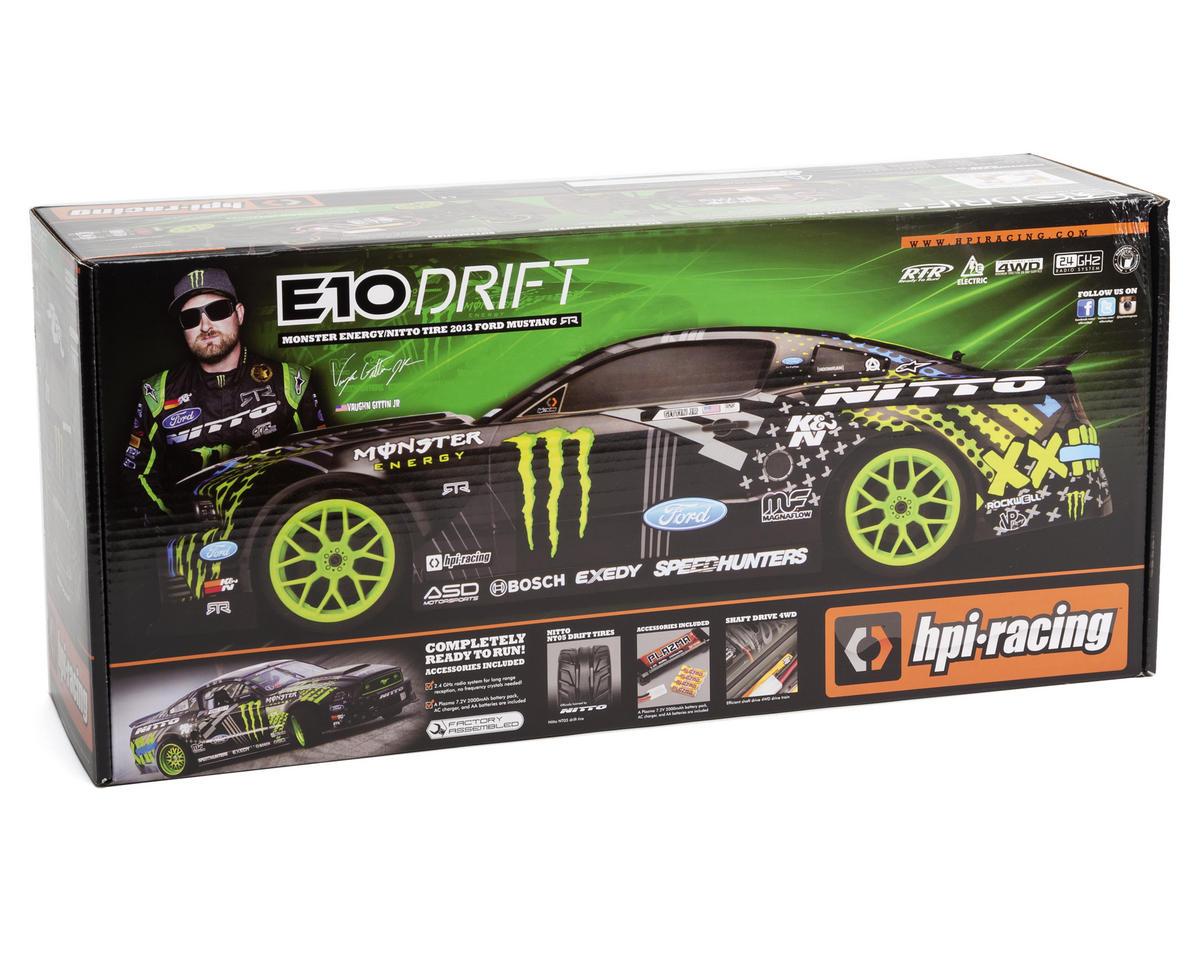Hpi Racing Drift Gittin Jr Monster Energy Mustang Body