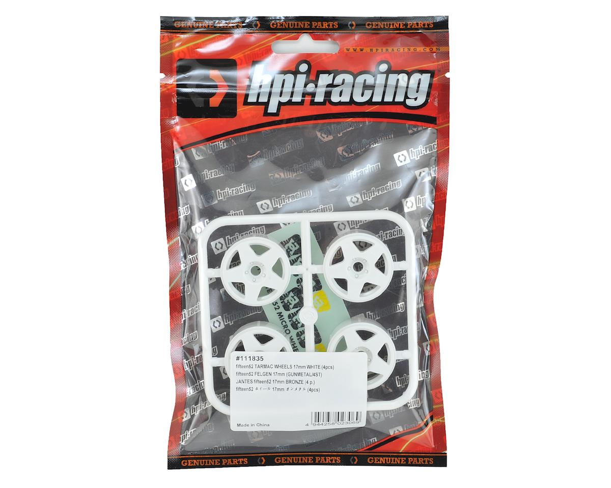 HPI Fifteen52 Tarmac Micro RS4 Wheel (White) (4)