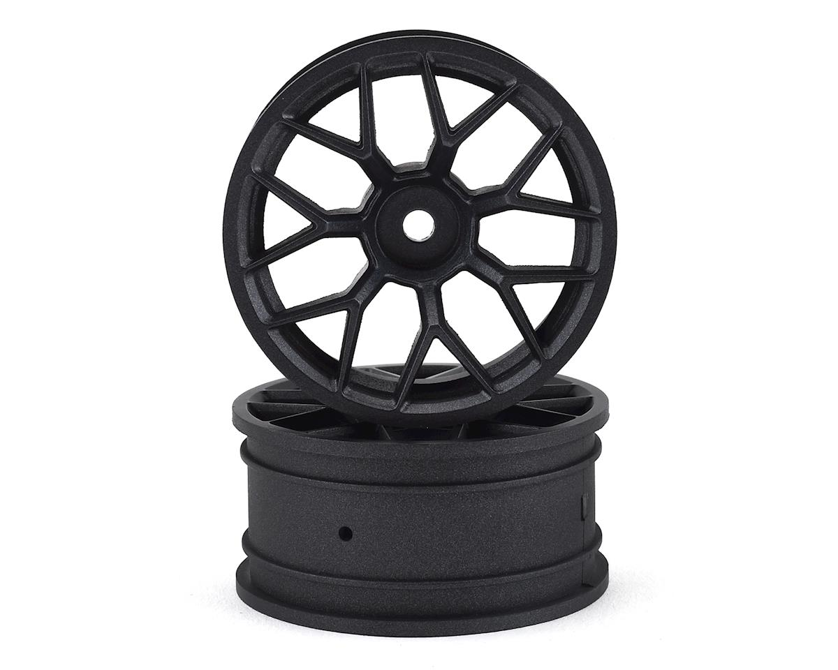 HPI 12mm Hex E10 RTR 26mm Touring Car Wheel (Gunmetal) (2)