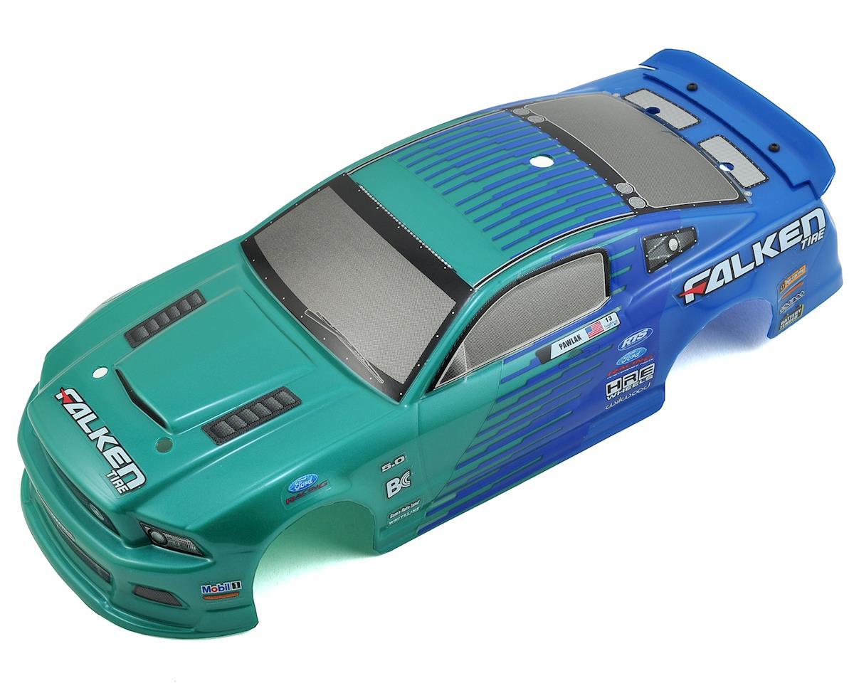 HPI Micro RS4 Pre-Painted Falken Tire 2013 Ford Mustang Body (140mm)