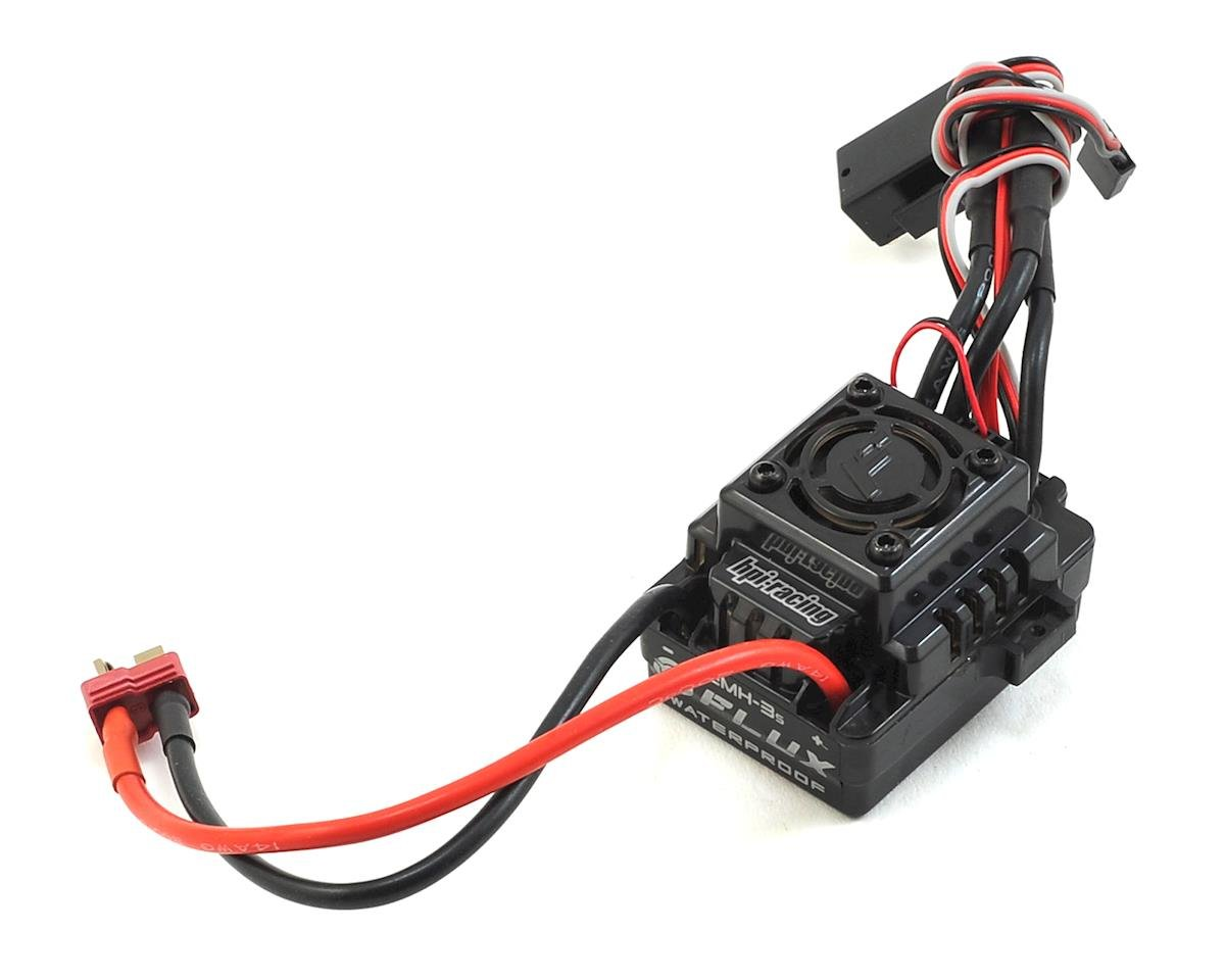 HPI Savage XS Flux FLUX EMH-3S Waterproof Brushless ESC