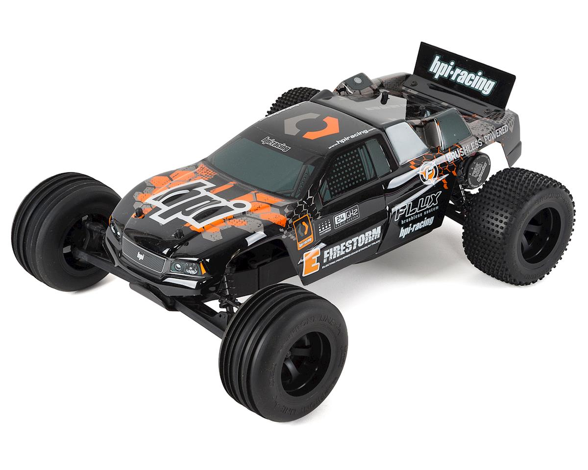 E-Firestorm 10T Flux 1/10 RTR Brushless Stadium Truck by HPI
