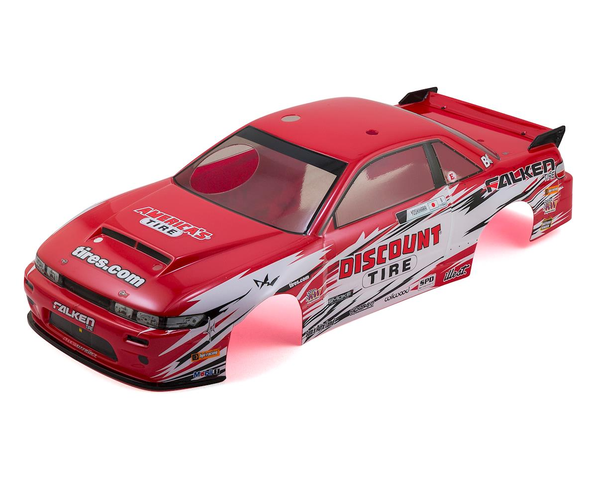 HPI Nitro RS4 3 Drift Nissan S13/Discount Tire Pre-Painted Body