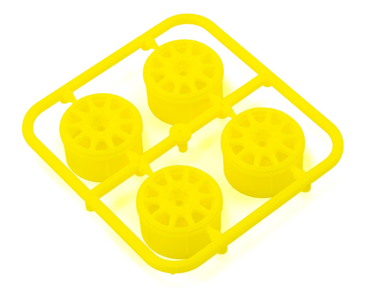 HPI Micro RS4 Method Rallycross Wheel (Yellow) (4)