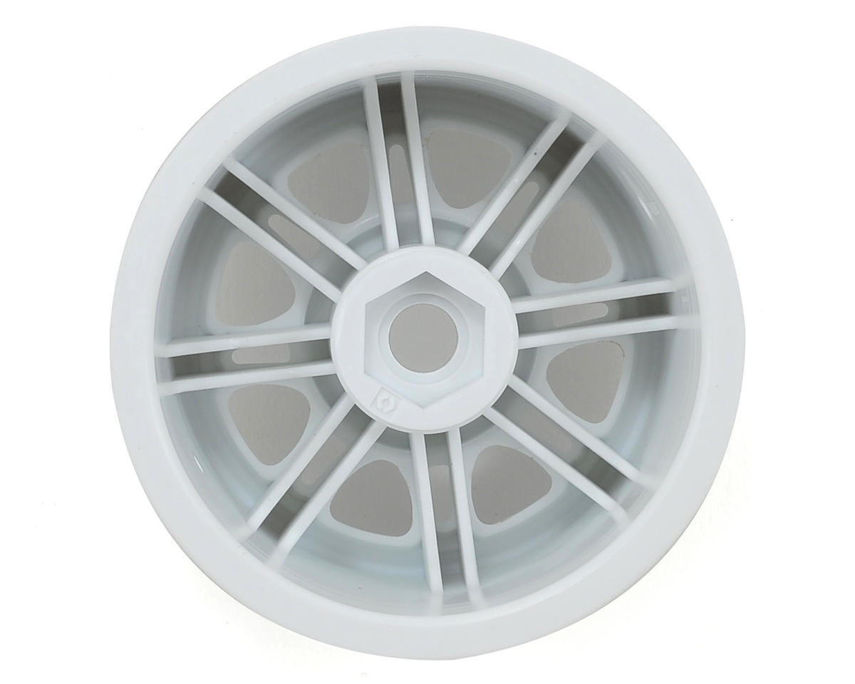 HPI Racing Split 8 Truck Wheel (2) (White)