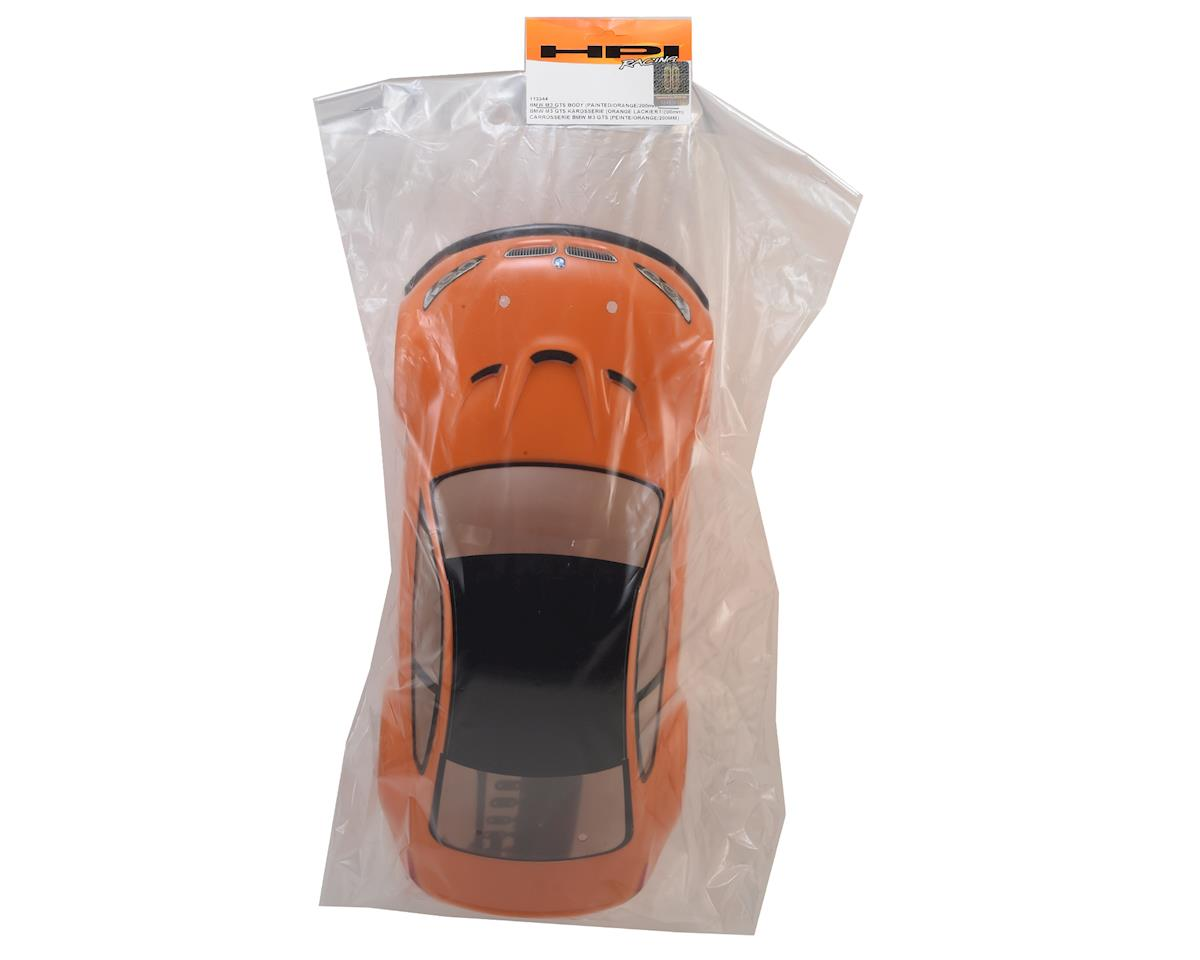 BMW M3 GTS Pre-Painted 1/10 Touring Car Body (Orange) (200mm) by HPI