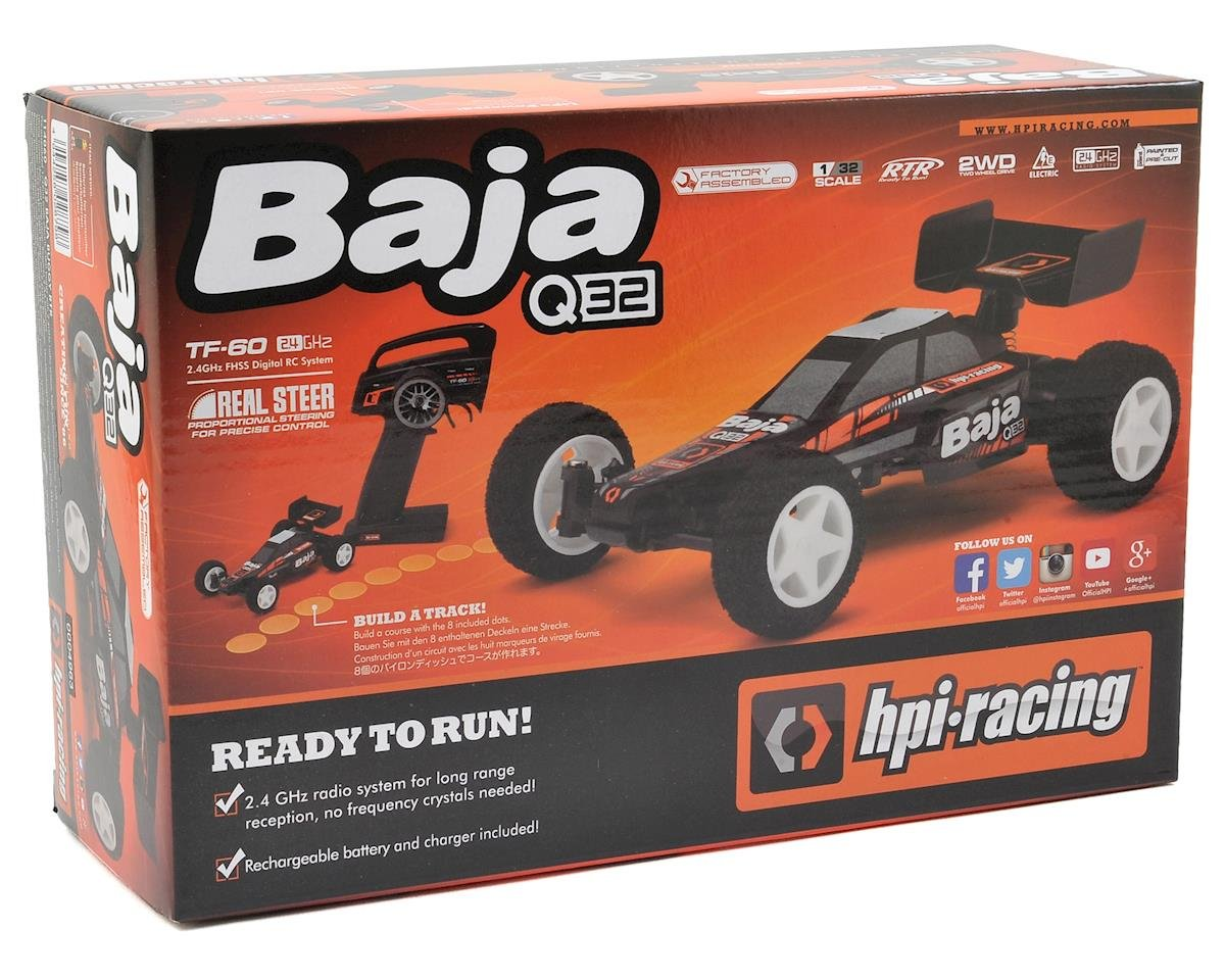 HPI Racing Baja Q32 RTR 2WD Electric Micro Buggy