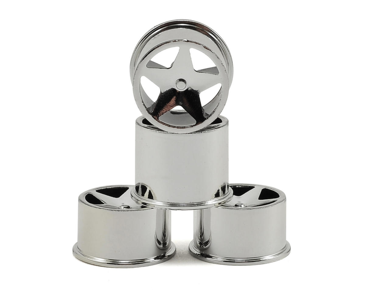 HPI Racing Baja Q32 Super Star Wheel Set (Chrome) (4)