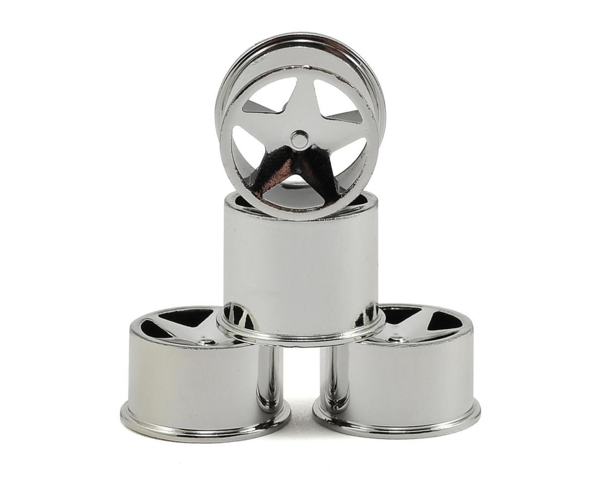HPI Racing Baja Q32 Super Star Wheel Set (Chrome) (4)