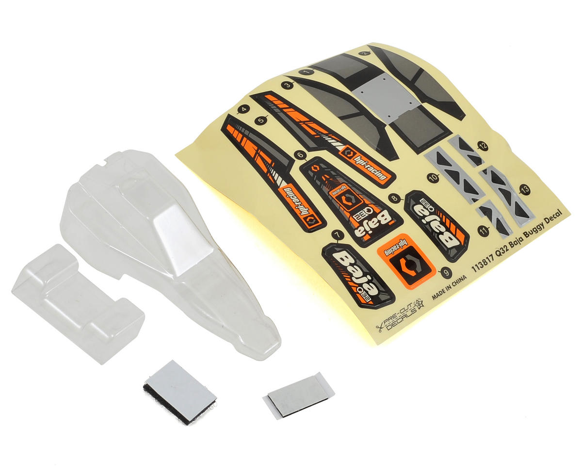 HPI Baja Q32 Buggy Body & Wing