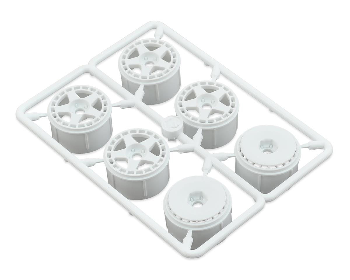HPI Micro RS4 fifteen52 Turbomac Wheel (White) (6)