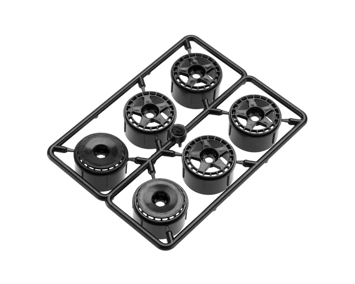HPI Micro RS4 fifteen52 Turbomac Wheel Black (6)