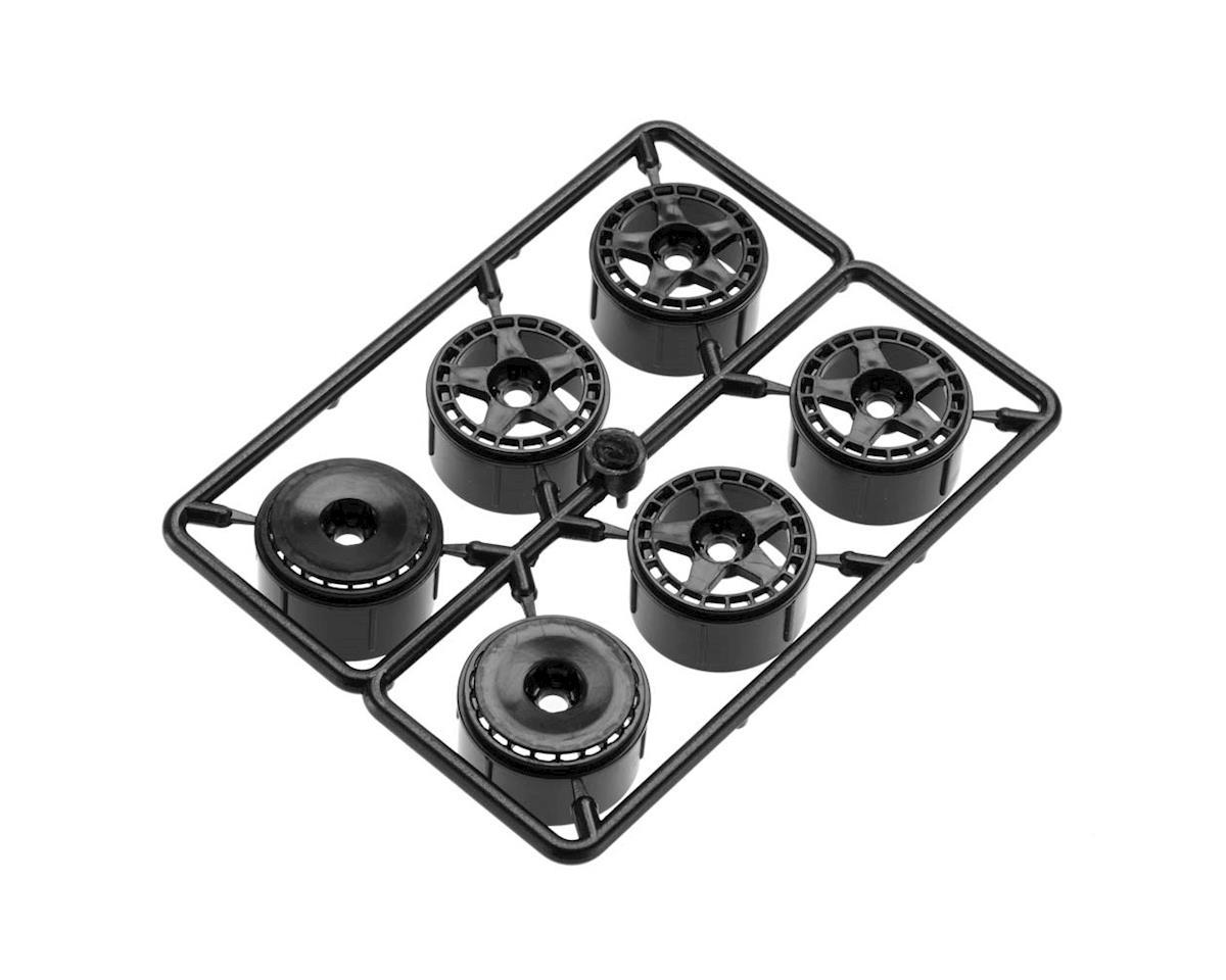 HPI Micro RS4 fifteen52 Turbomac Wheel Black (6)