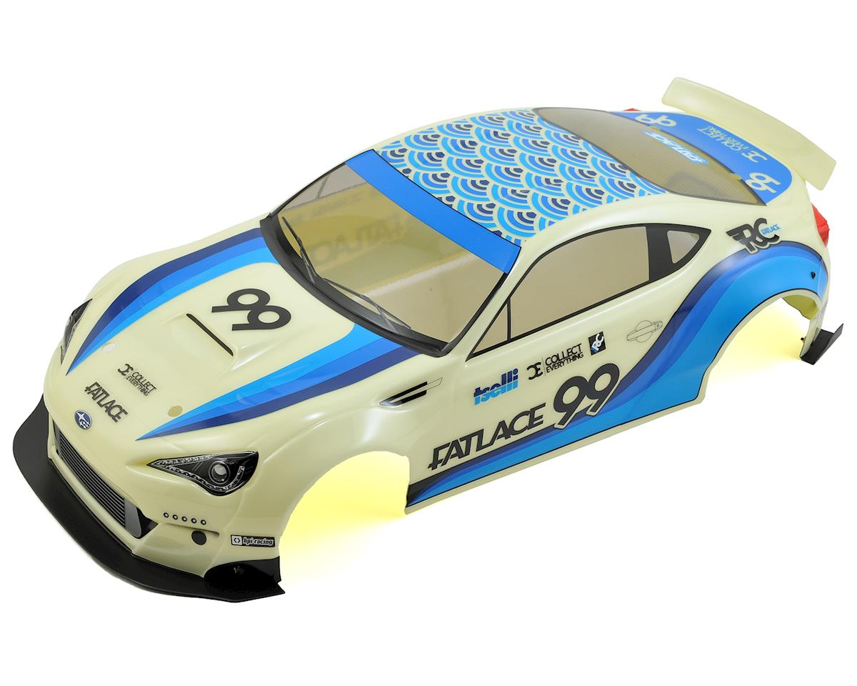 HPI RS4 Fatlace Subaru BRZ Pre-Painted Body (200mm)