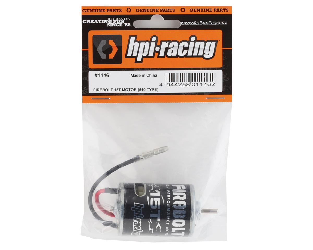 HPI Racing Firebolt 15T Brushed Motor (1)