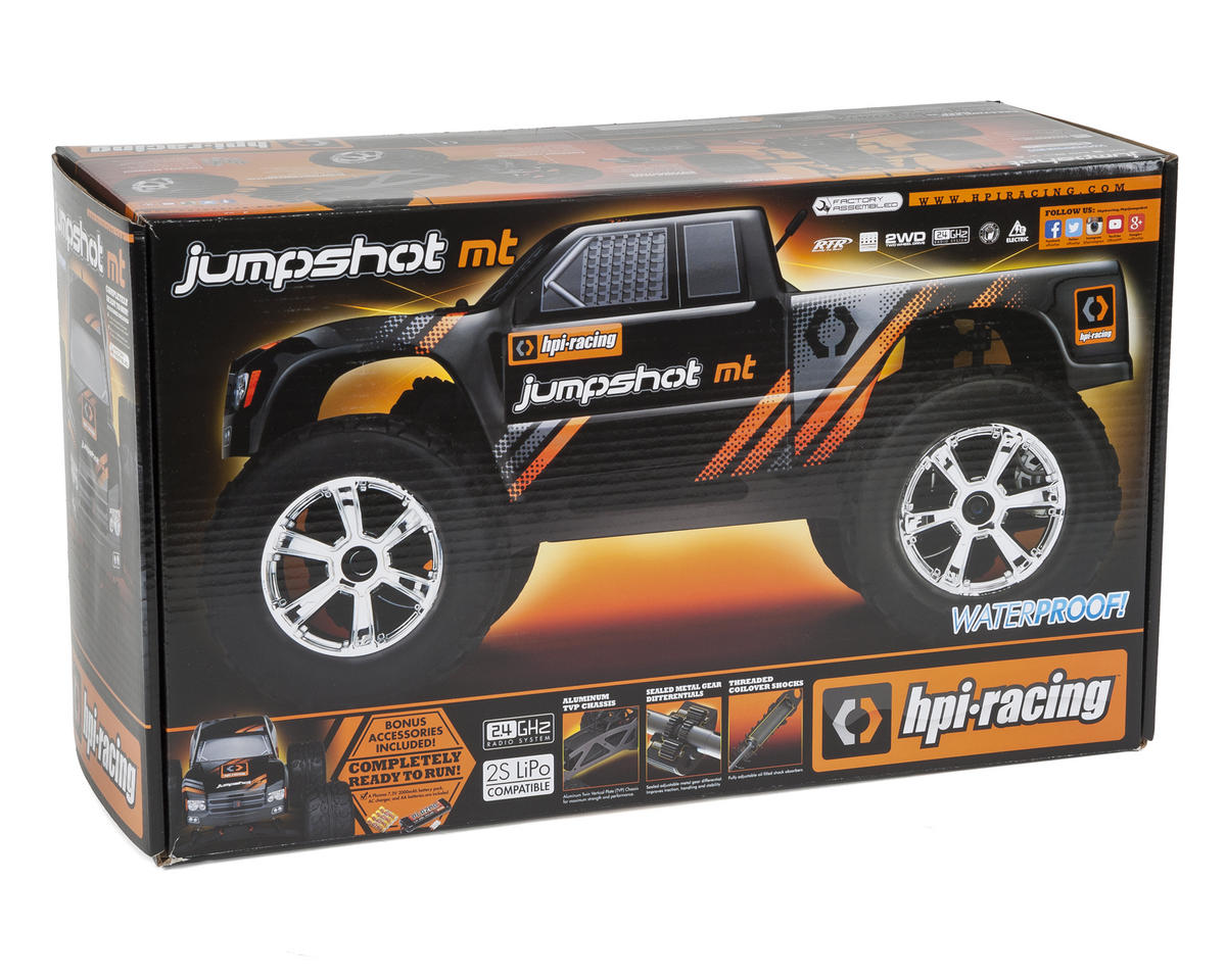 HPI Jumpshot MT 1/10 RTR Electric 2WD Monster Truck