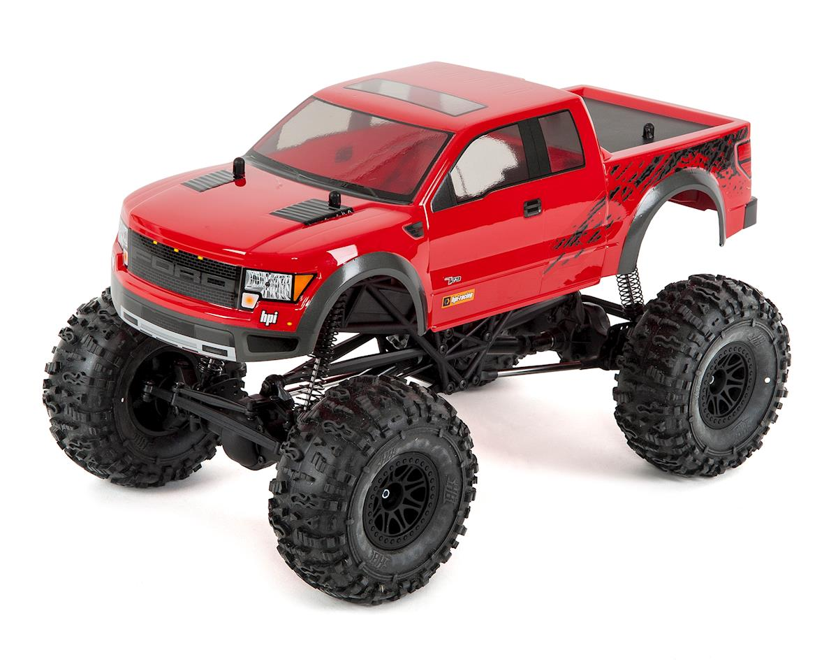 HPI Racing Crawler King RTR 4WD Rock Crawler (Ford F150 SVT)