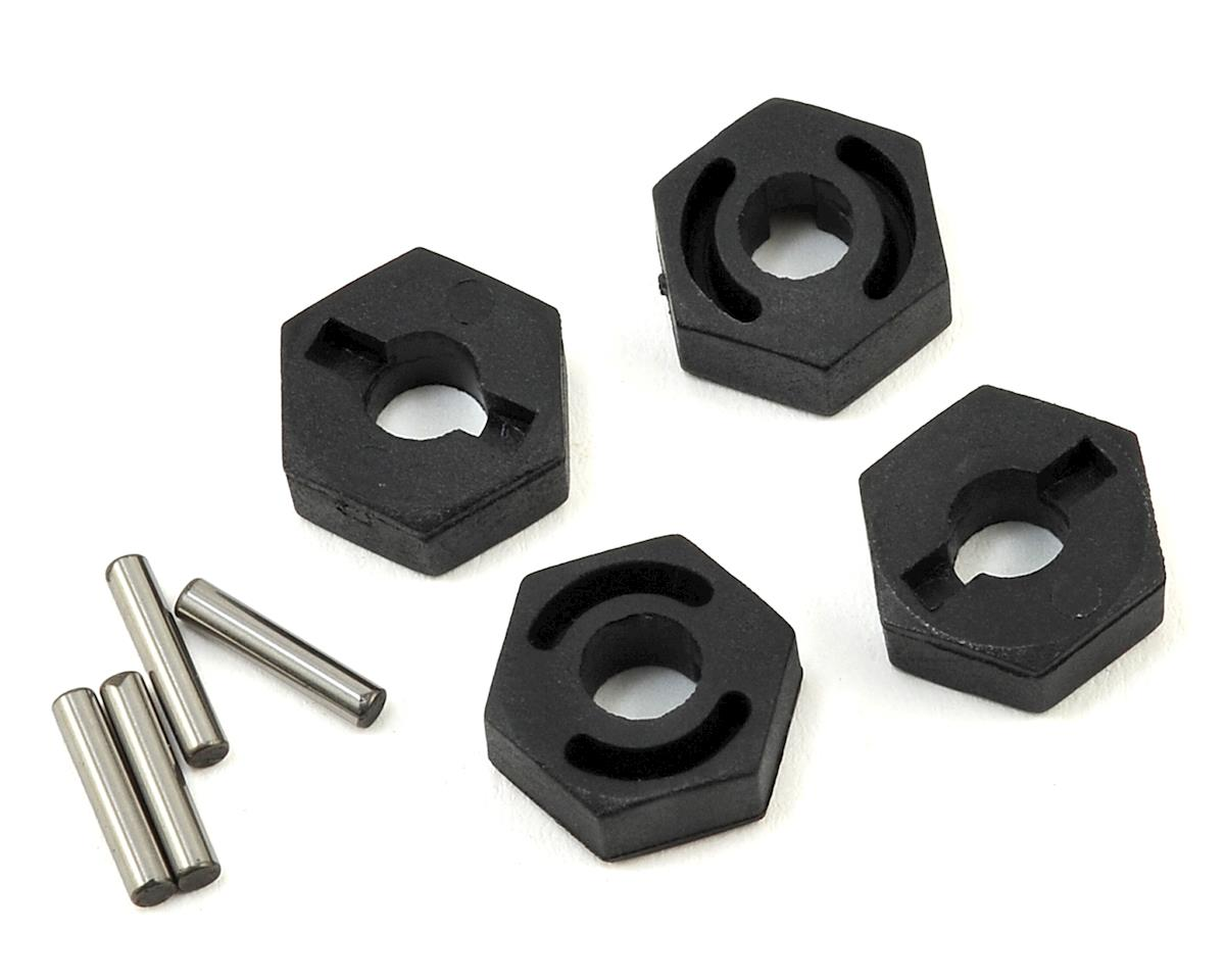 12mm Jumpshot Wheel Hex Hub Set (4) by HPI