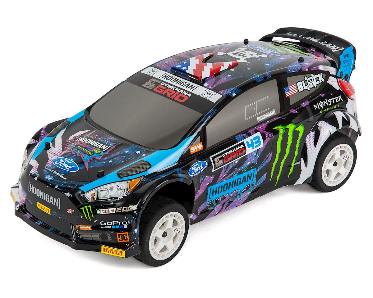 HPI Racing Ken Block WR8 Flux 2015 Ford Fiesta ST RX43 Rally Car