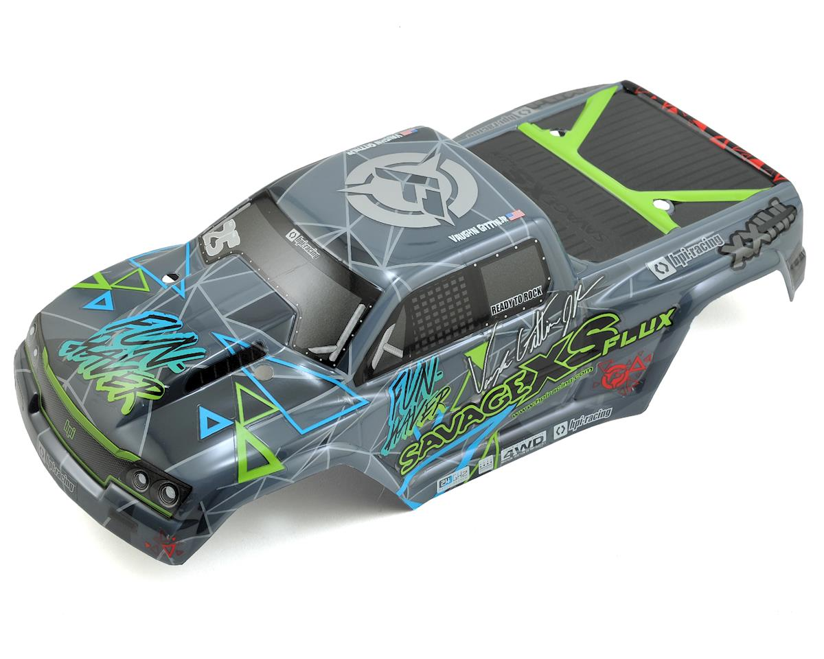 Vaughn Gittin Jr GT-2XS Pre-Painted Monster Truck Body by HPI