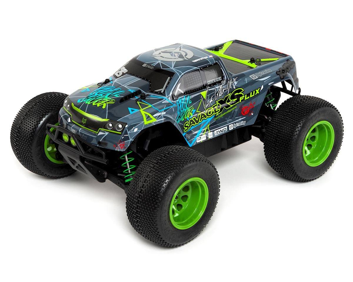 HPI Racing Savage XS Flux Vaughn Gittin Jr RTR Micro Monster Truck