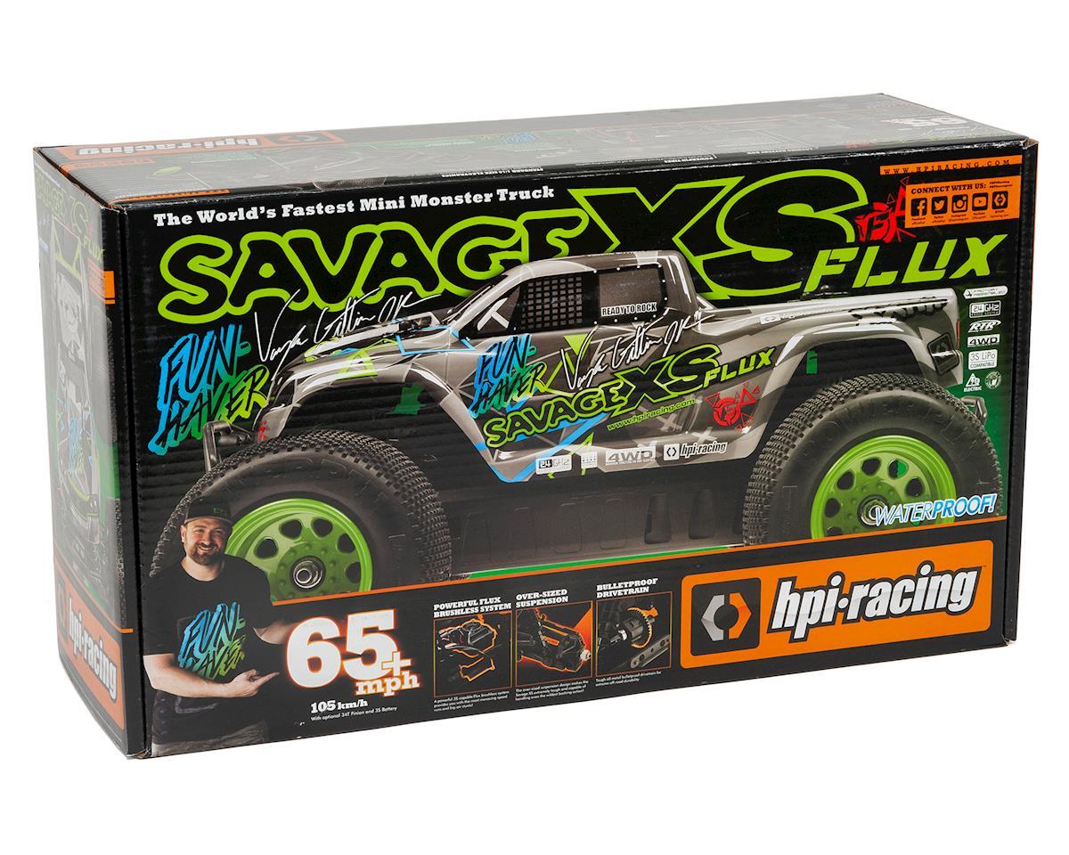 HPI Savage XS Flux Vaughn Gittin Jr RTR Mini Monster Truck