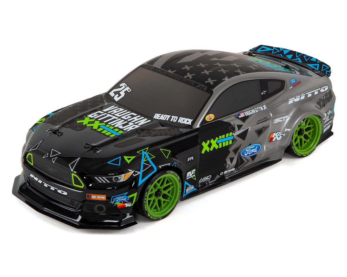 RS4 Sport3 Drift RTR Ford Mustang Vaughn Gittin Jr. Body Sedan by HPI