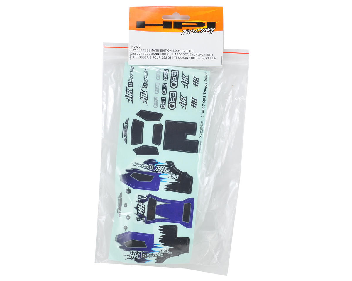 HPI Racing D8T Q32 Body (Clear)