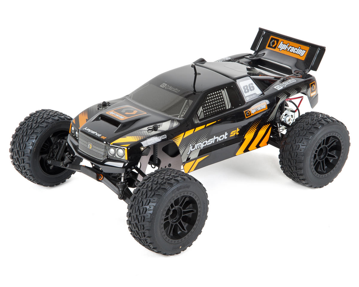 Jumpshot ST RTR 1/10 Stadium Truck w/2.4GHz Radio by HPI