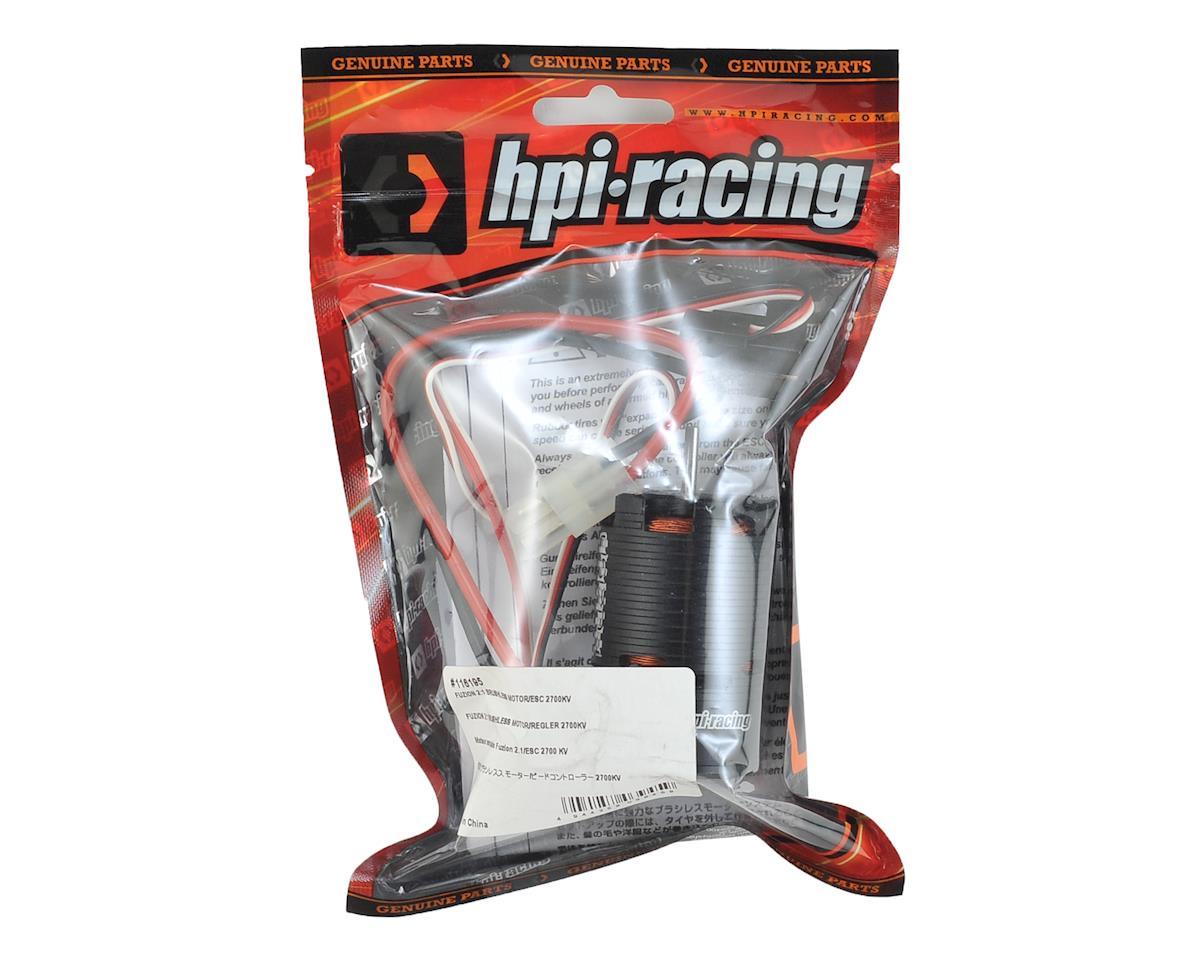 HPI 1/10 Fuzion 2:1 Brushless Motor & ESC (2700kV)