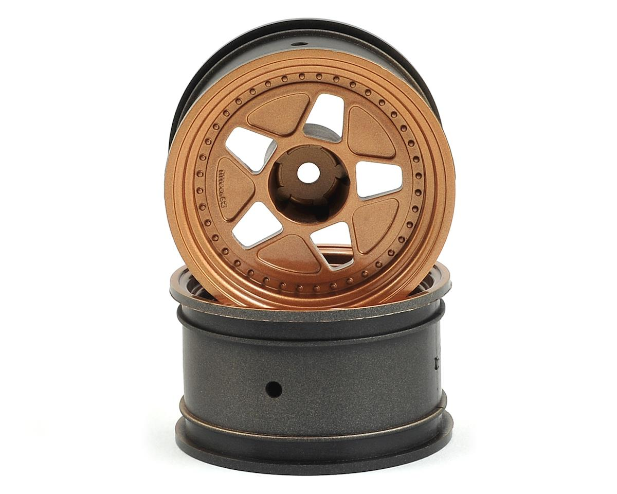 12mm Hex 52x31mm Tarmacr40 1/10 Wheel (Bronze) (2) (+15mm Offset) by HPI 1/10th Hoonicorn