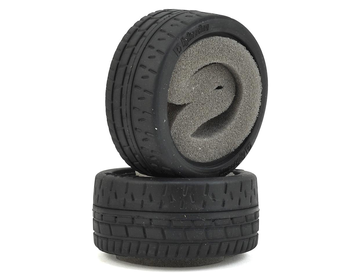 HPI 69x31mm Wide Radial Grip Tire (2)