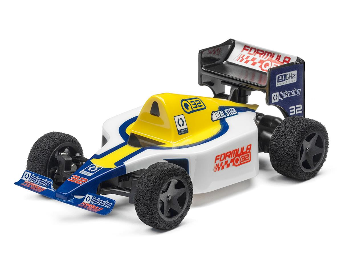 Formula 1 Q32 1/32 RTR 2WD Electric Micro F1 Car (Blue) by HPI