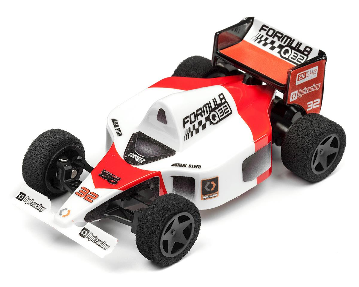 Formula 1 Q32 1/32 RTR 2WD Electric Micro F1 Car (Red) by HPI