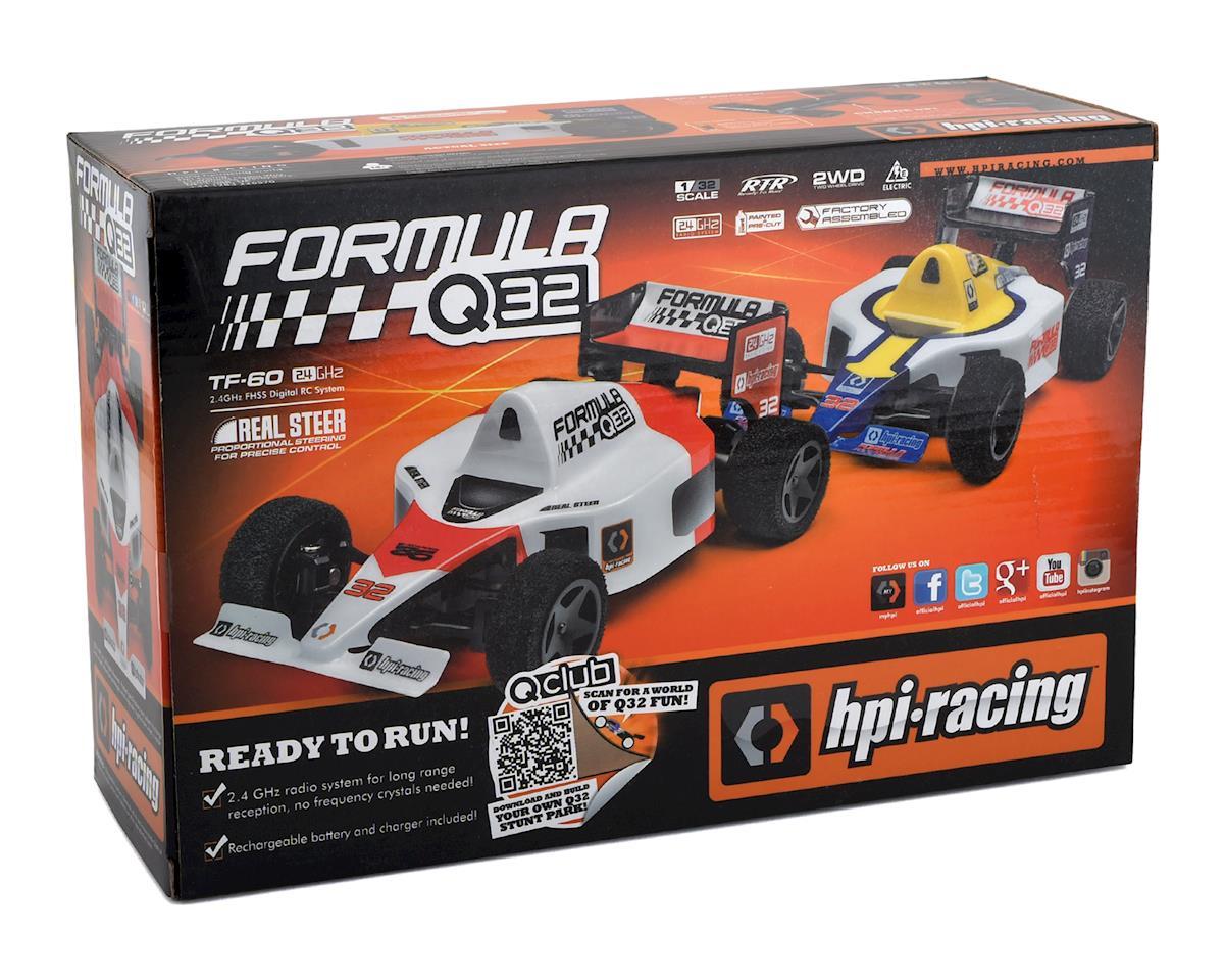 HPI Formula 1 Q32 1/32 RTR 2WD Electric Micro F1 Car (Red)