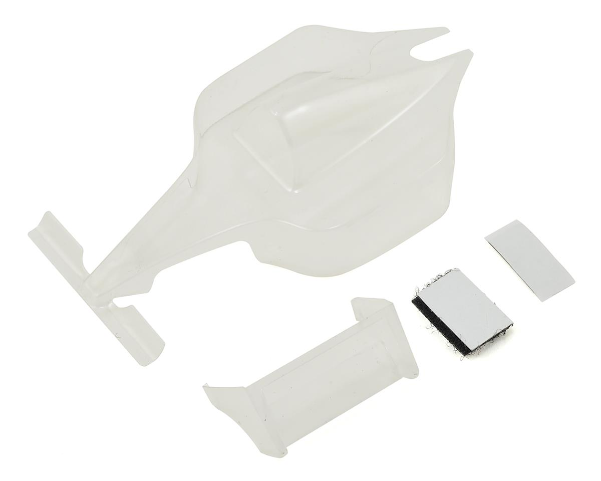 Q32 Formula 1 Body w/Wing (Clear) by HPI