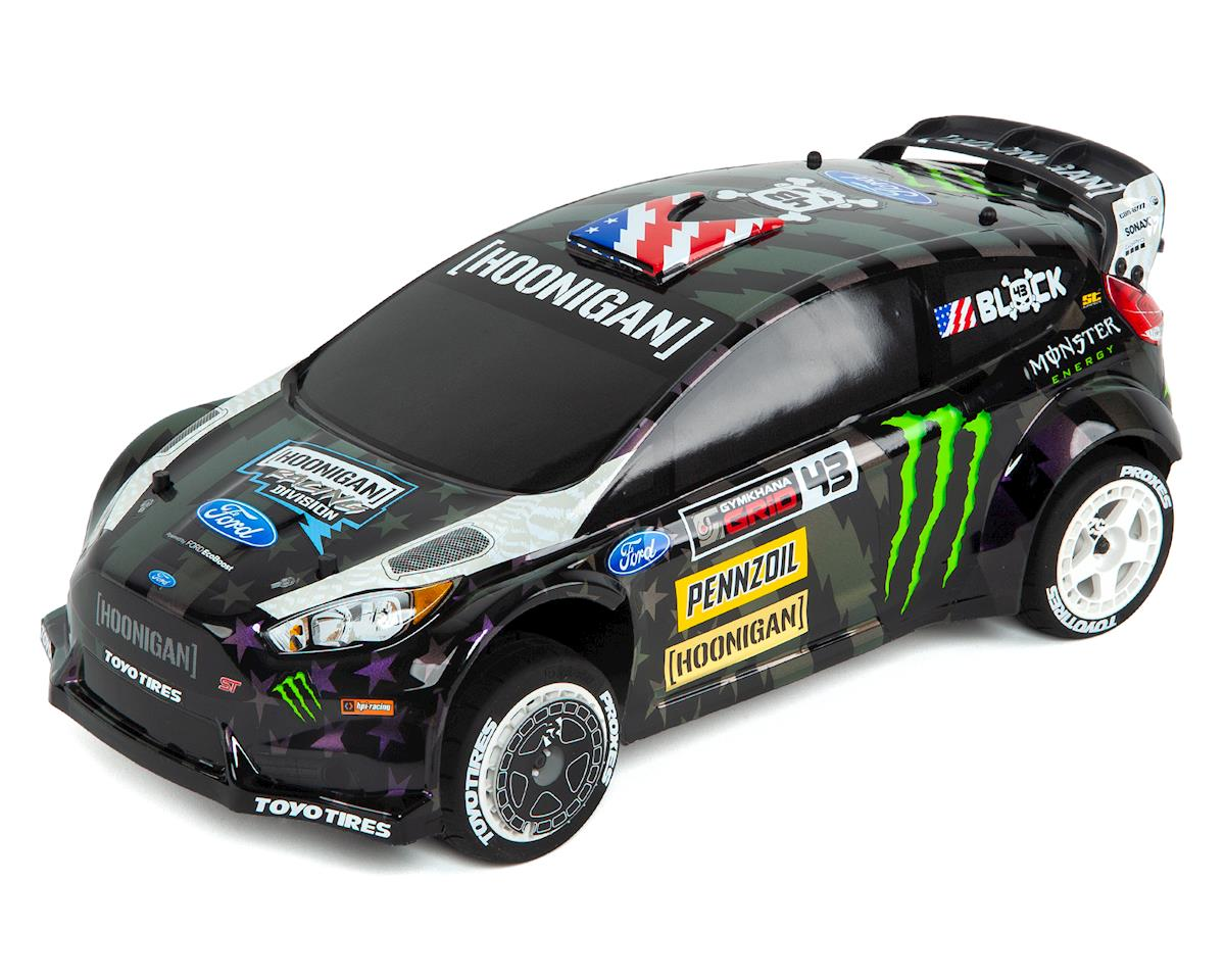 WR8 FLUX Ken Block Gymkhana Ford Fiesta ST RX43 RTR 1/8 4WD Rally Car by HPI