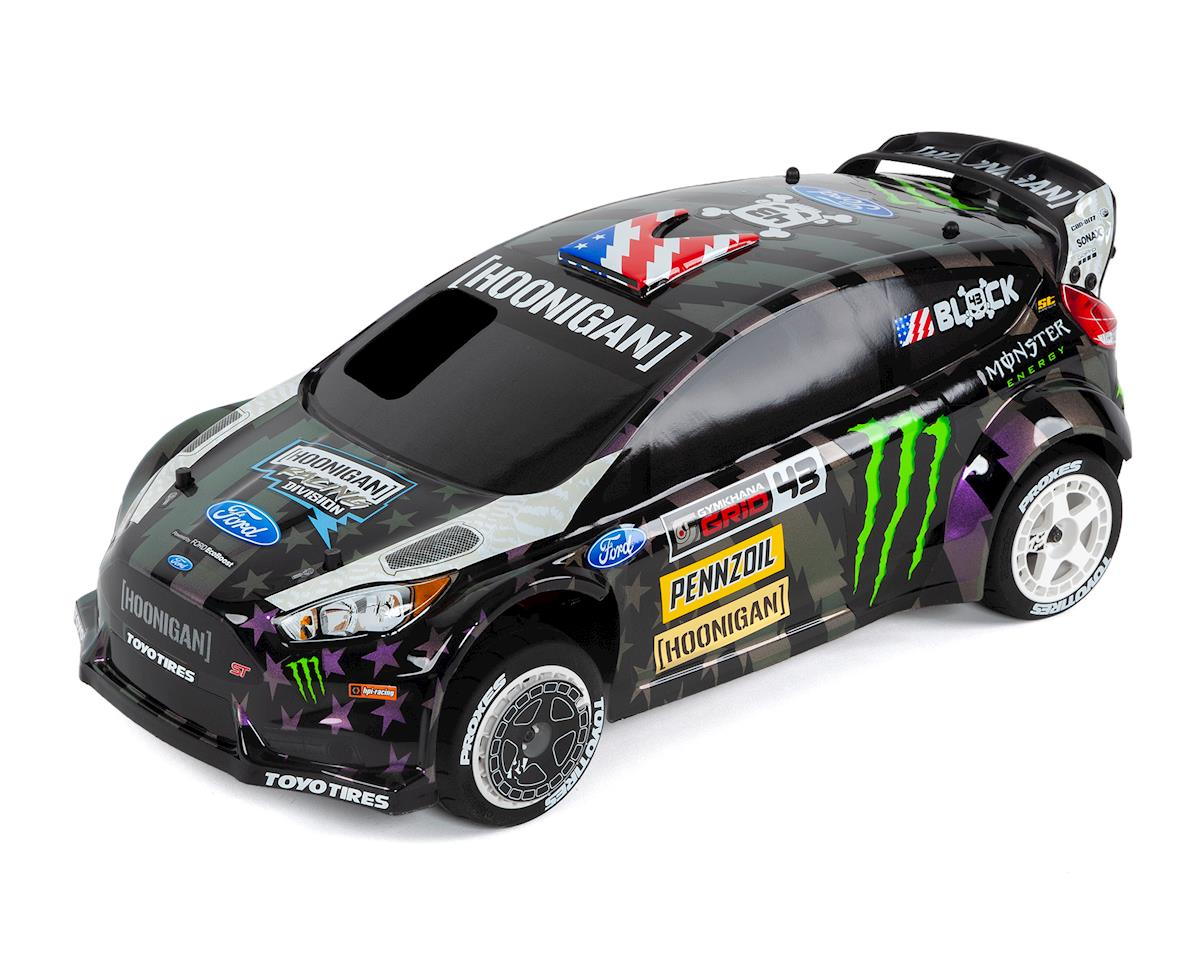 WR8 Nitro Ken Block Gymkhana Ford Fiesta ST RX43 RTR 1/8 4WD Rally Car by HPI