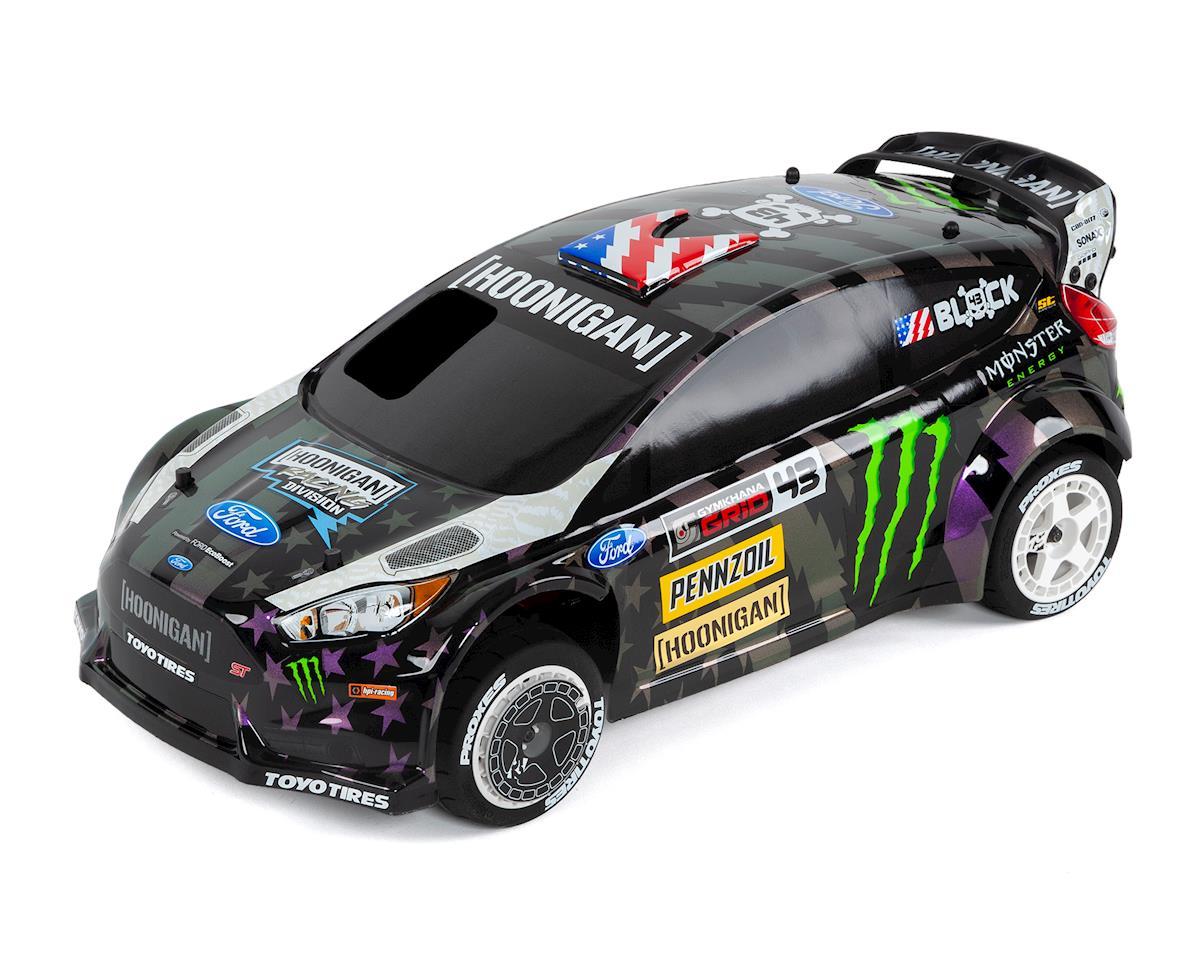 HPI WR8 Nitro Ken Block Gymkhana Ford Fiesta ST RX43 RTR 1/8 4WD Rally Car