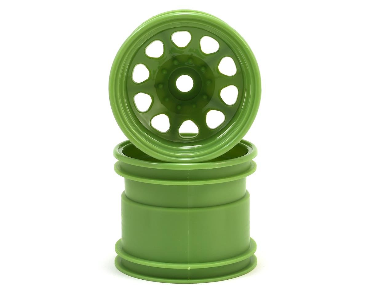 "HPI 12mm Hex 2.2"" Classic King Wheel (Green) (2)"