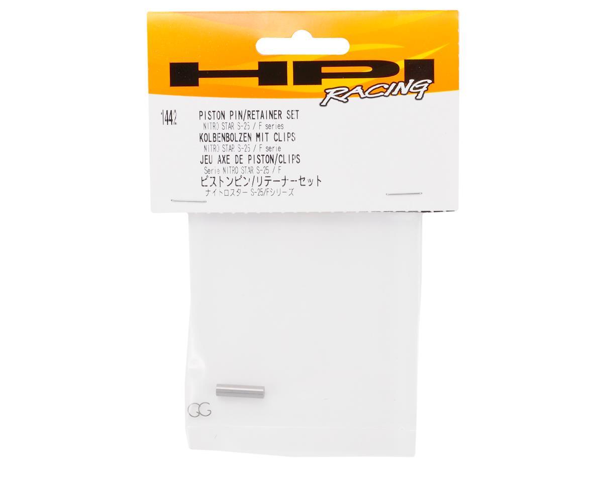 HPI Piston Pin & Retainer Set: S25,F4.1