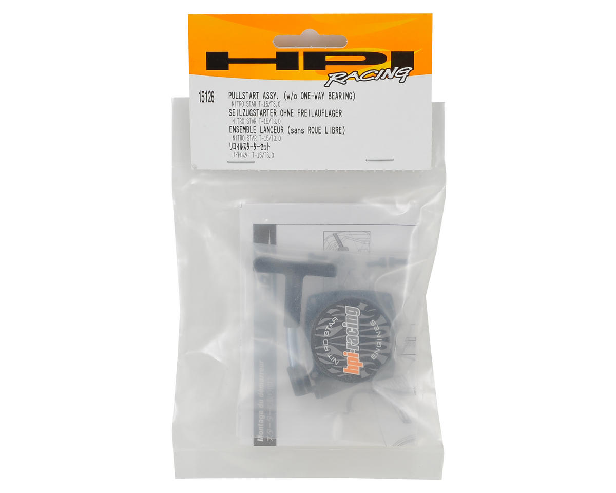 HPI Racing T15 Pullstart Assembly w/1-Way Ball Bearing