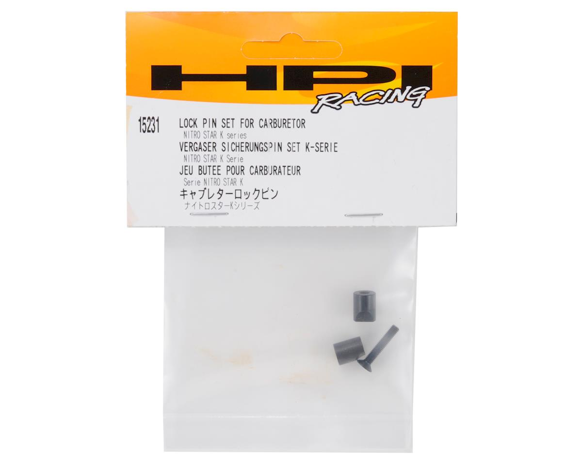 Carburetor Lock Pin Set (4.6/K5.9) by HPI