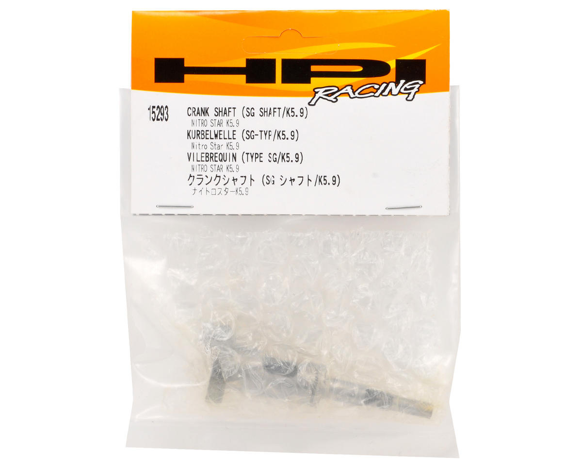 HPI Racing SG Crank Shaft