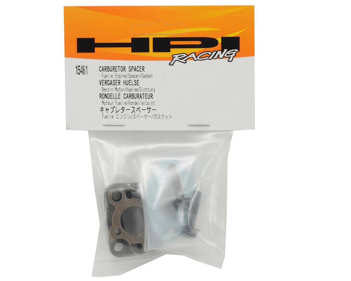HPI Racing Fuelie Carburetor Spacer w/Gaskets