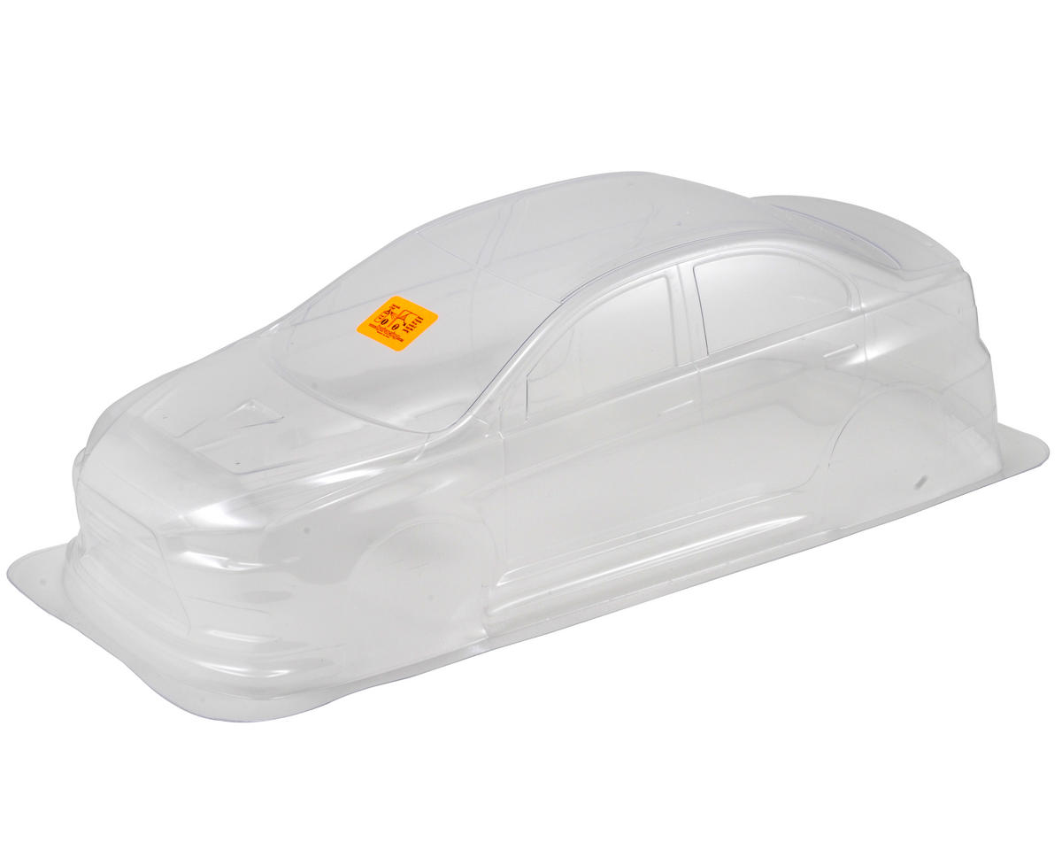 HPI RS4 Mitsubishi Lancer Evolution X Body (Clear) (200mm)