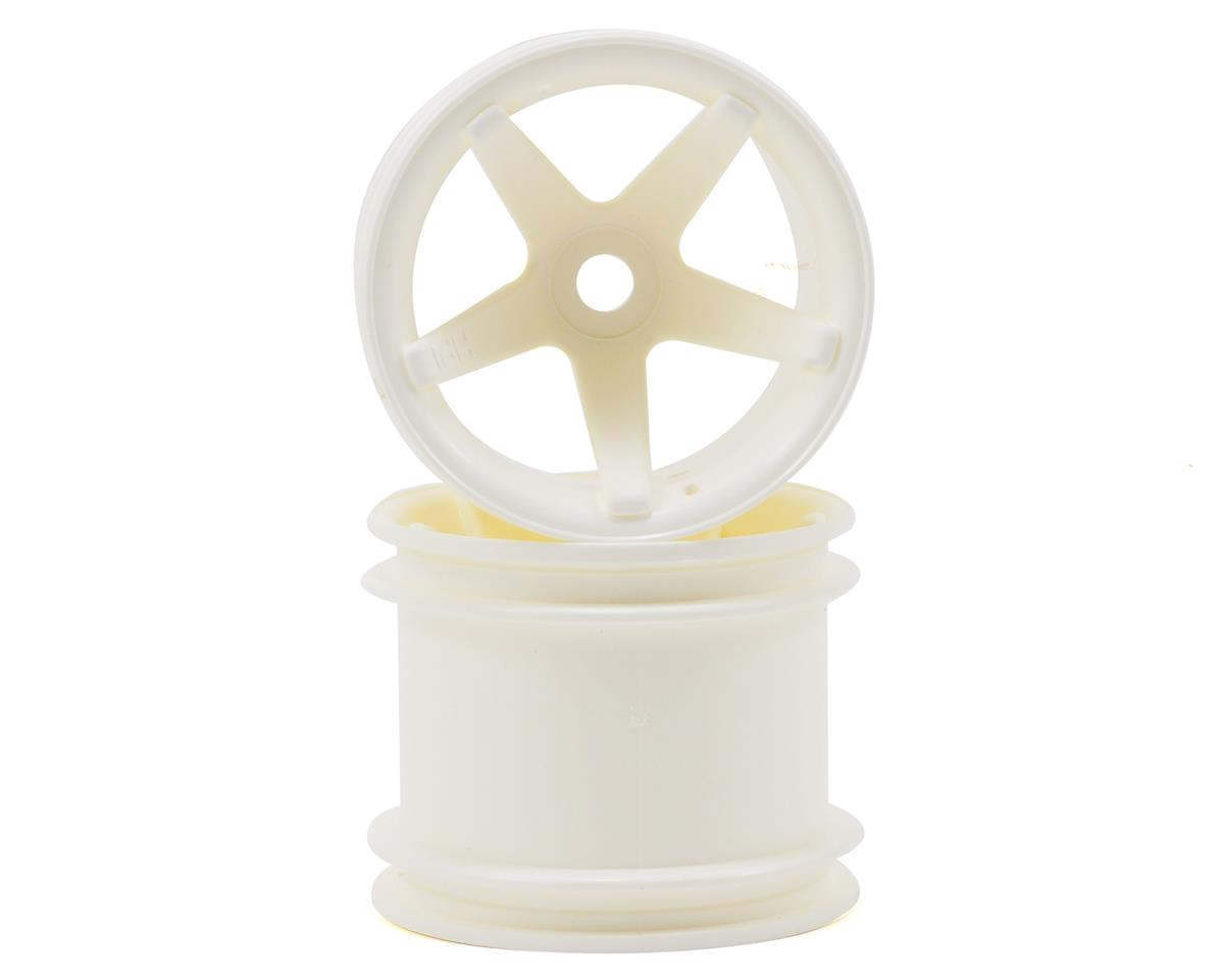Super Star 2.2 Truck Wheel (2) (Deep Offset) (White) by HPI
