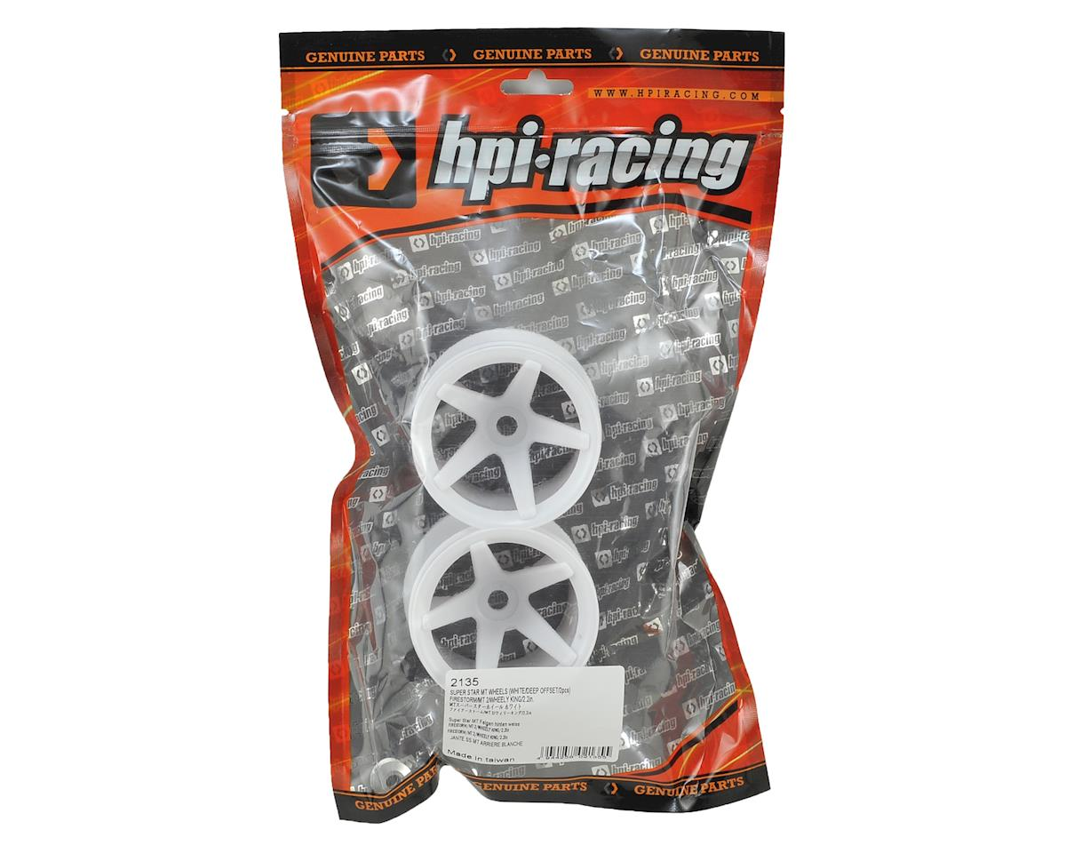 HPI Super Star 2.2 Truck Wheel (2) (Deep Offset) (White)