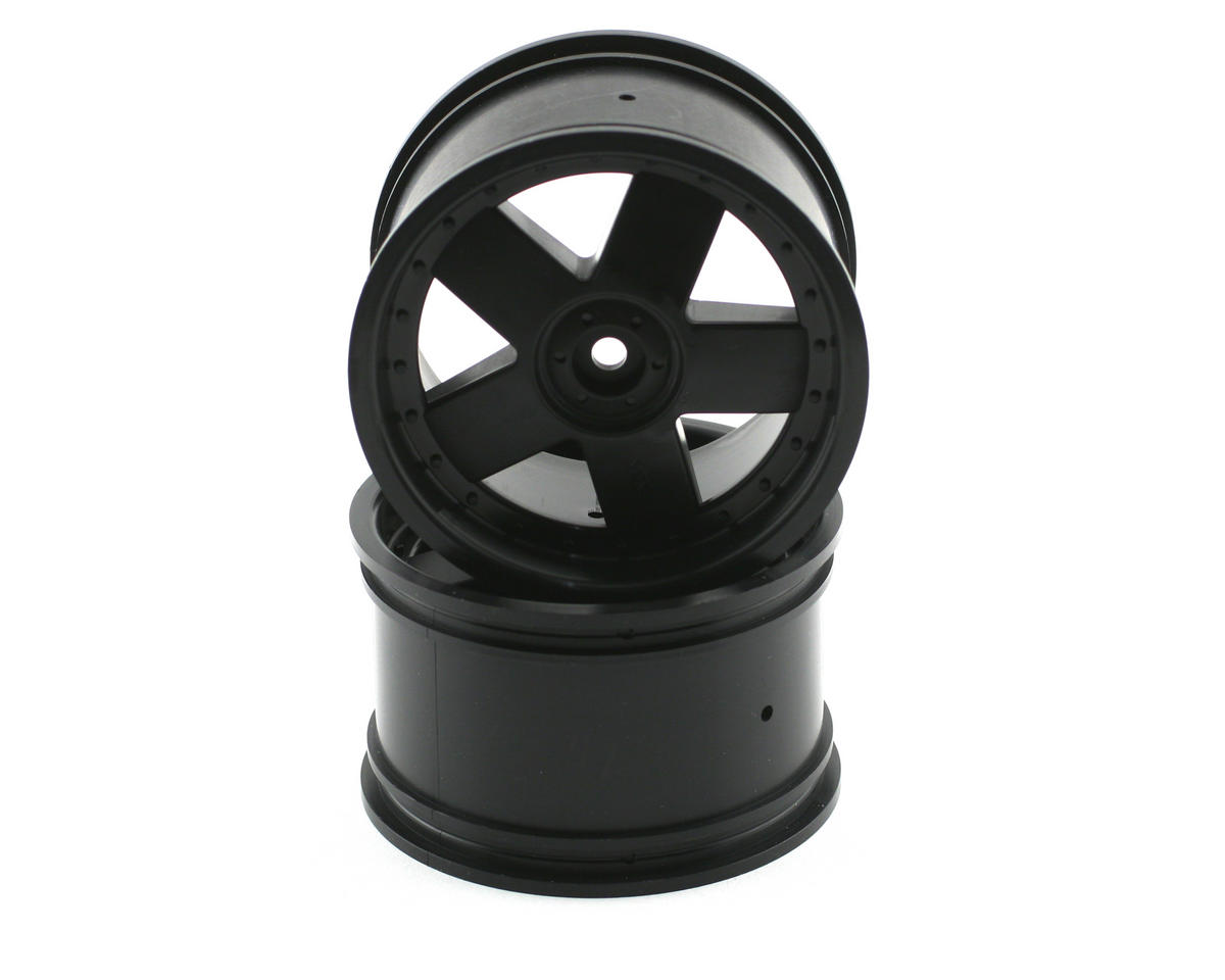 HPI Racing GT5 Black Wheel (2) (Savage/Savage X)